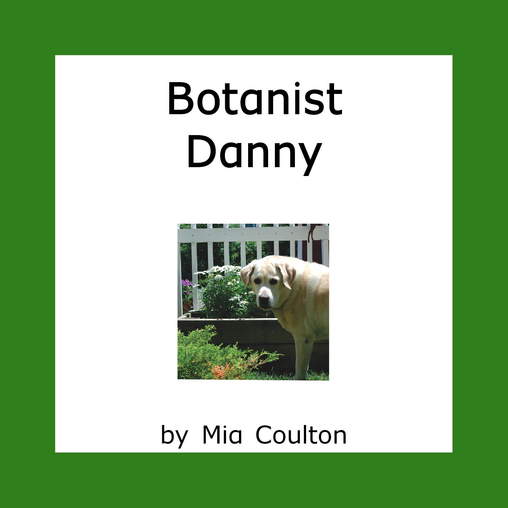 Cover of Botanist Danny