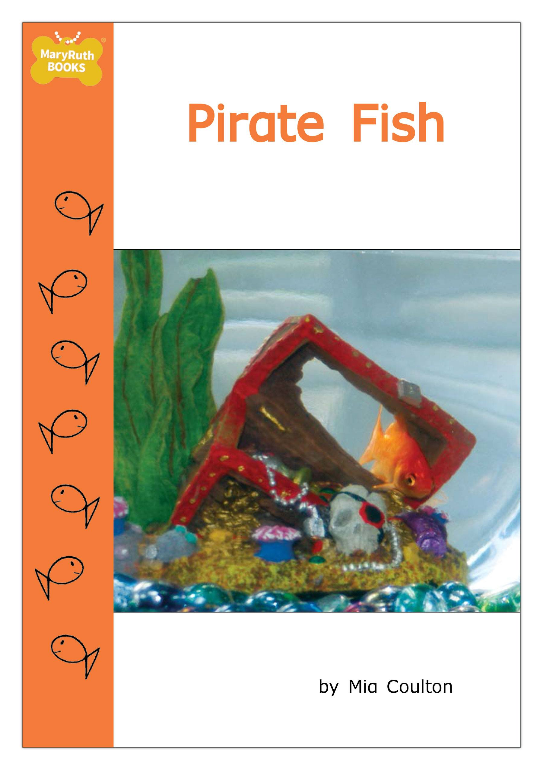 In pirate fish there is something new in fish 39 s bowl it for Book with fish bowl on cover