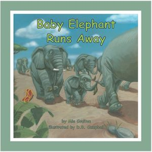 Baby Elephant Runs Away Small Group Set