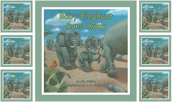 Baby Elephant Runs Away Small Group Set