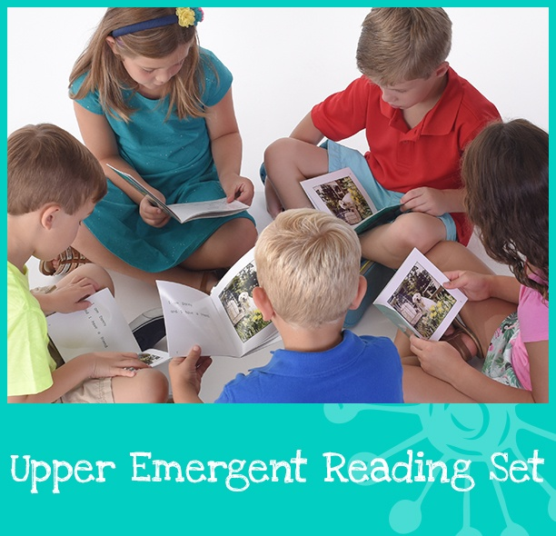 Purchase the Upper Emergent Reading Set by MaryRuth Books, an Upper Emergent Readers Classroom Book Set