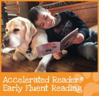 Accelerated Reader Early Fluent Reading Boy Reading