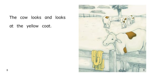 The Yellow Coat inside Page