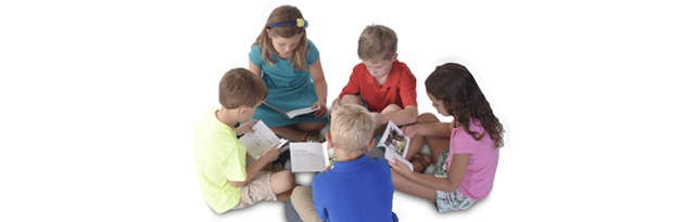 Group of Children Reading - Leveled Sets