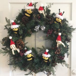Danny and Bee Wreath