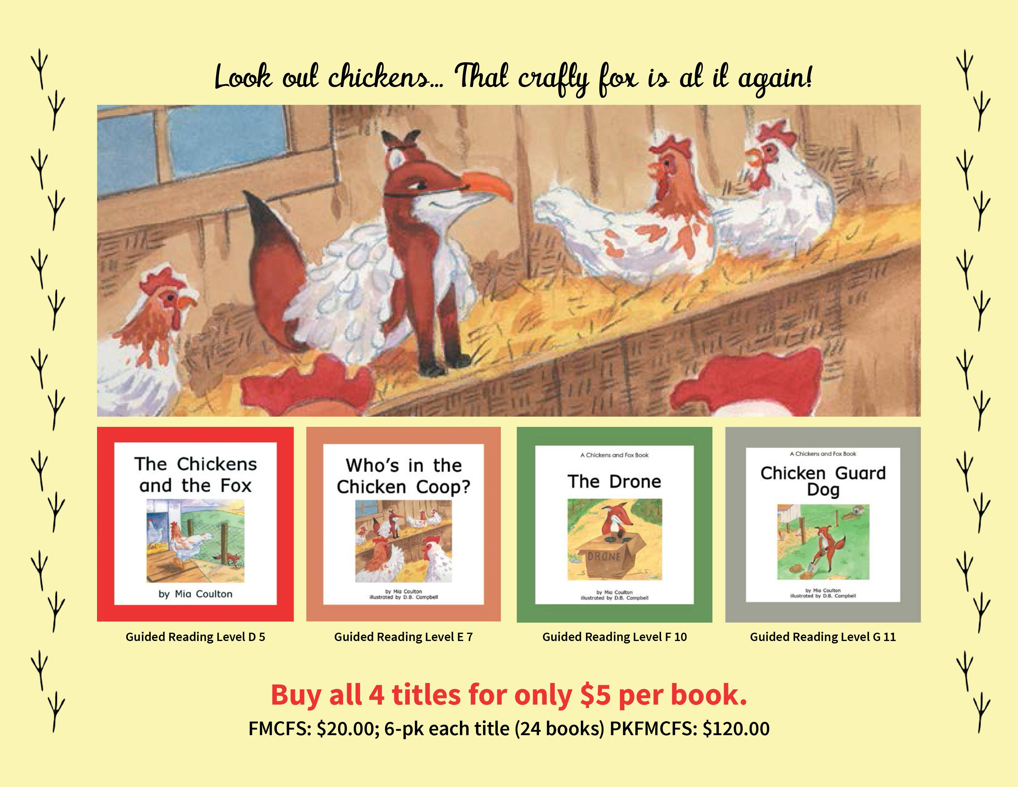 The chickens and the fox set maryruth books the geenschuldenfo Image collections
