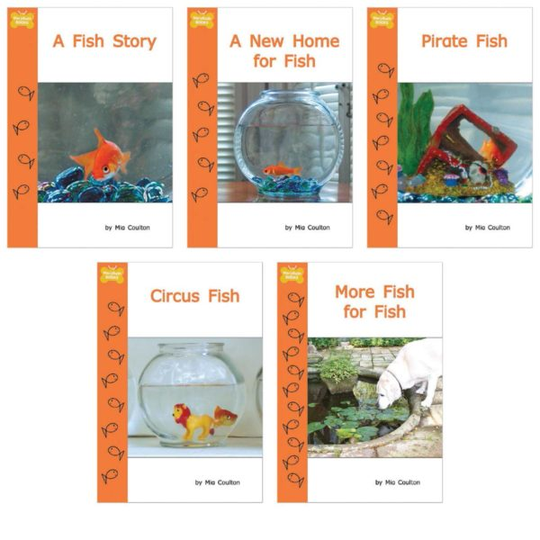 Cover images for 5 books in Fish Stories Set