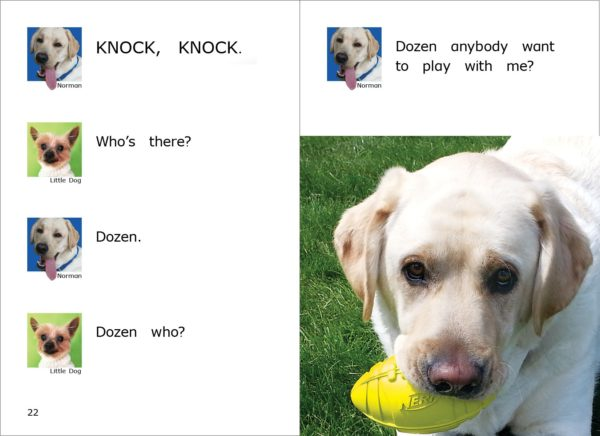 Pages 22-23 from Danny and Norman's Favorite Knock Knock Jokes