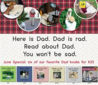 Special Fathers Day offer of 6 titles featuring Danny and Dad for only $25.
