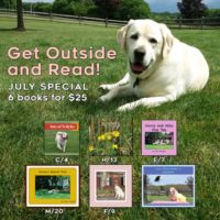 Get Outside and Read July Special, 6 books for $25