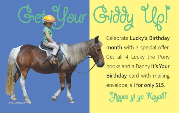 Celebrate Lucky's Birthday month