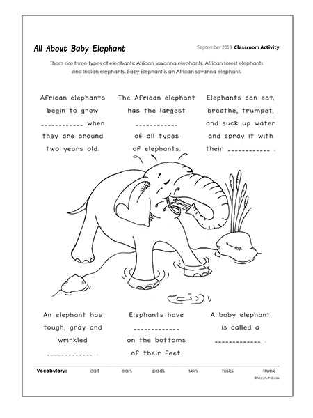 downloadable writing exercise