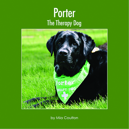 Porter The Therapy Dog Cover
