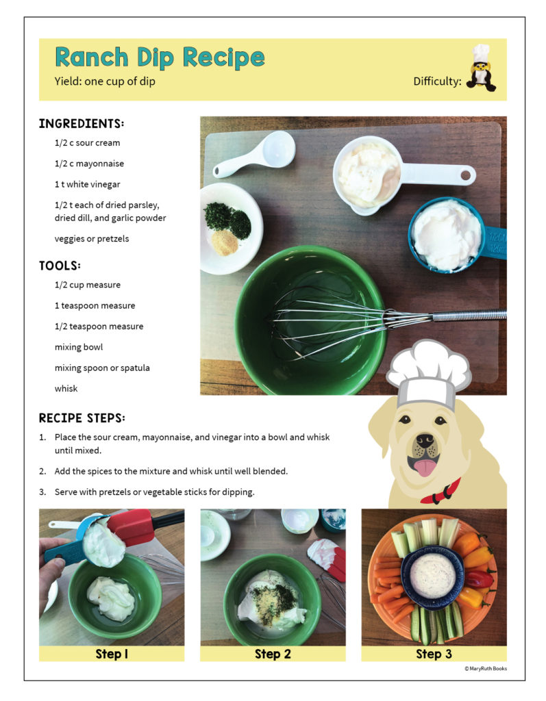 Ranch Dip Recipe