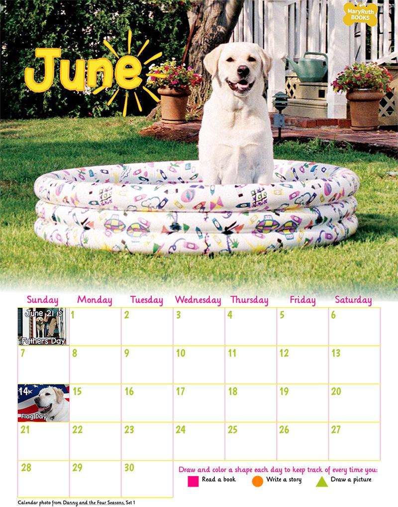 06 June Calendar 2020