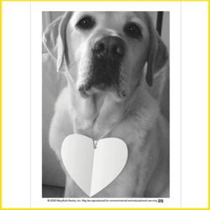 Danny Paper Heart Card