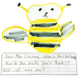Letter from Elissa, Fernbrook Elementary School_Maple Grove_MN